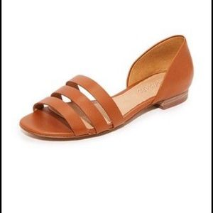 • Madewell • Leila leather flat sandal